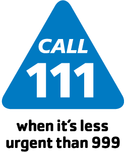 Call 111 when it's less than 999